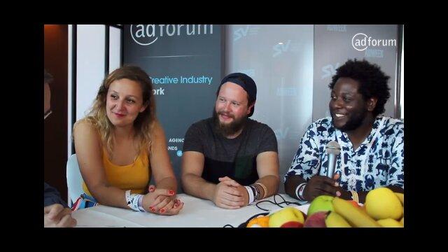 Fabienne Fiorucci, Damien Foui and Wale Gbadamosi Oyekanmi for dare.win