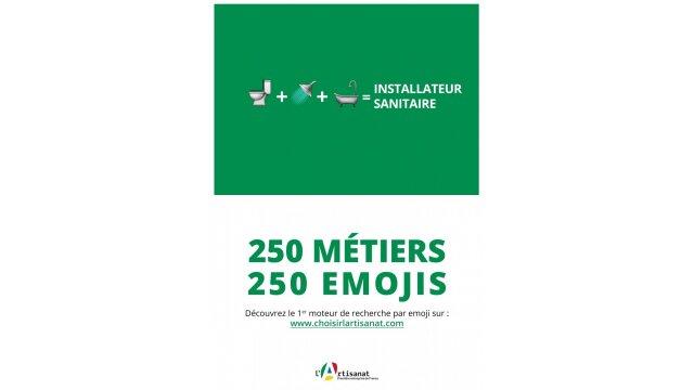 250 Métiers. 250 Emojis 4