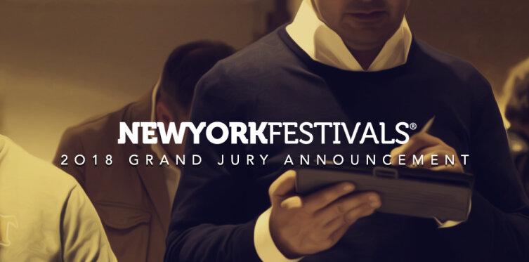 New York Festivals International Advertising Awards Announces the 2018 Grand Jury